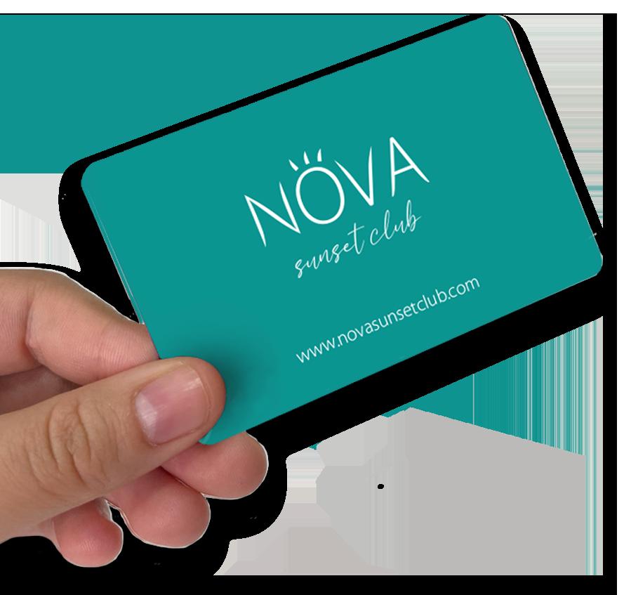 Tarjeta Nova +
